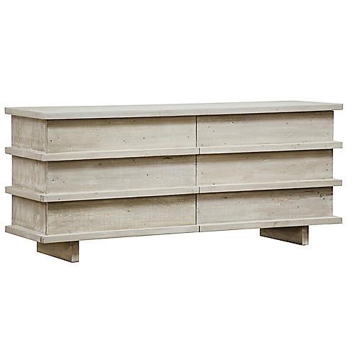 Bergamot Dresser, Graywash