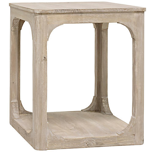 Gismo Side Table, Graywash