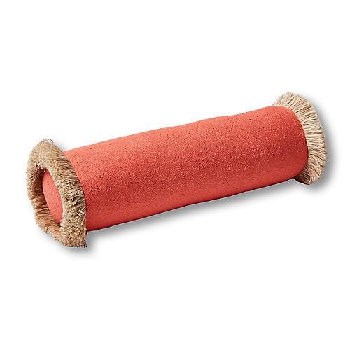 Abra 7x20 Bolster Pillow, Coral