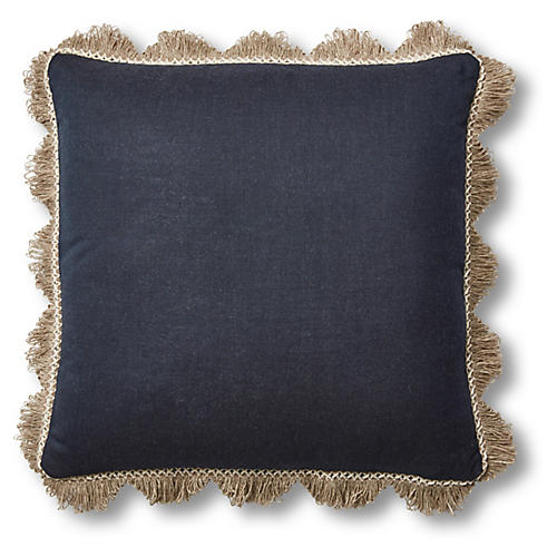 Katerini 20x20 Pillow, Indigo