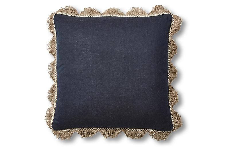 Katerini 20x20 Pillow, Indigo