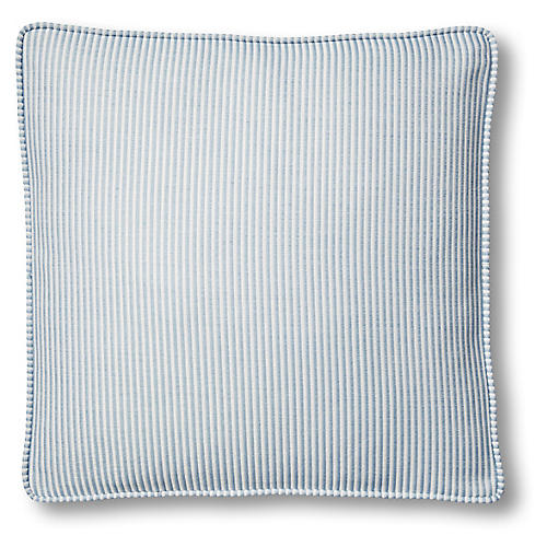 Lottie 19x19 Pillow, Periwinkle