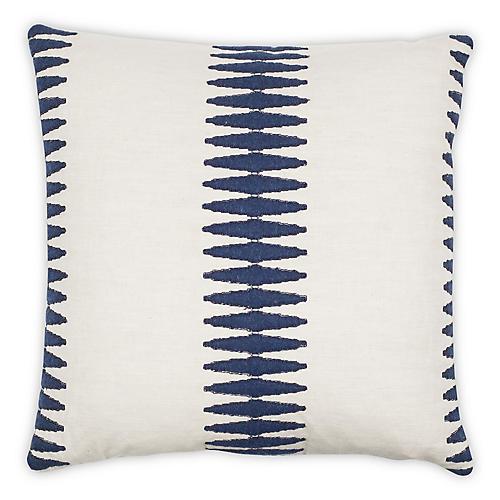 Abinu 20x20 Pillow, Navy
