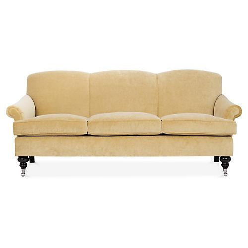 Joplin Sofa, Dijon Velvet