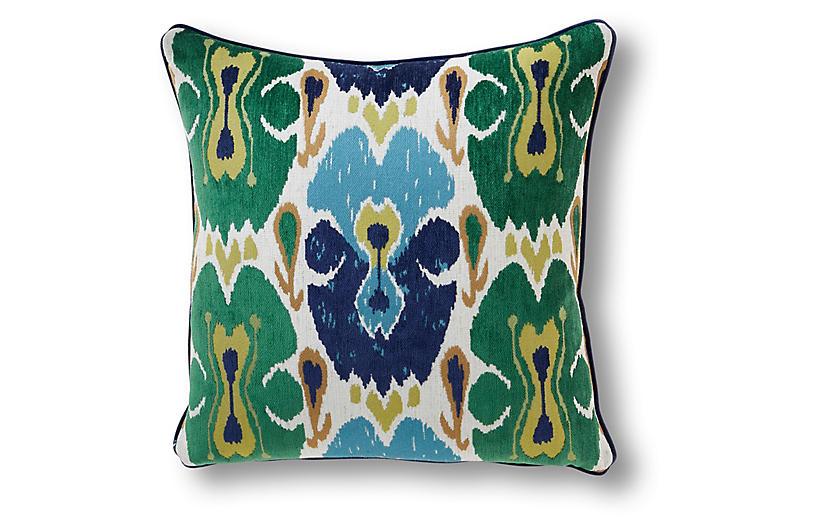 Gerber 22x22 Pillow, Green/Multi
