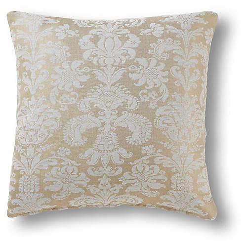 Wilkow 19x19 Pillow, Gold Dust Linen