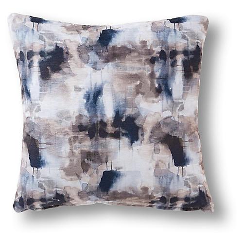 Kaleb 19x19 Pillow, Slate/Multi