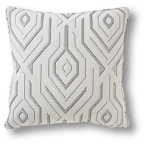 Doran 19x19 Pillow, Graphite