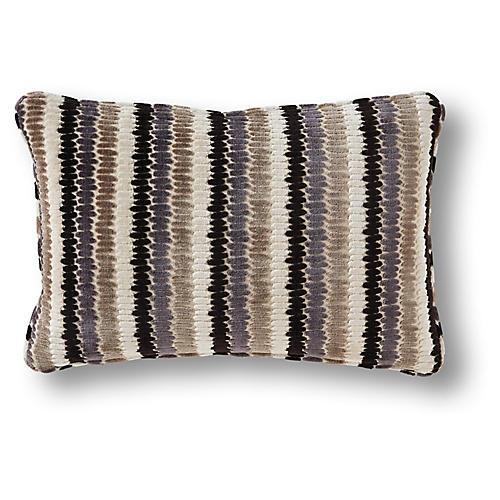 Malley 12x22 Pillow, Carmel/Multi Velvet