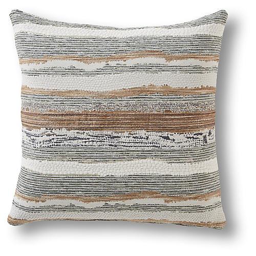 Petosa 22x22 Pillow, Latte