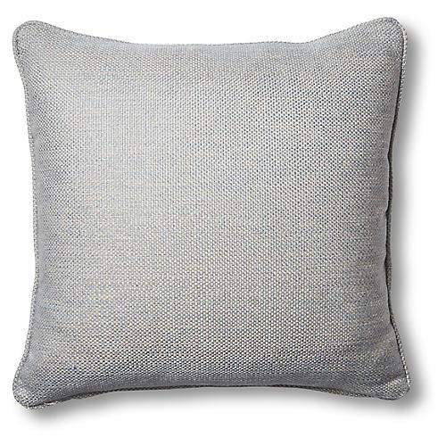 Jemma 19x19 Pillow, Harbor Gray