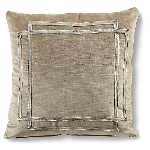 Laurie 19x19 Pillow, Sand