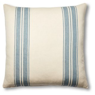 Brentwood 24x24 Pillow, China Blue