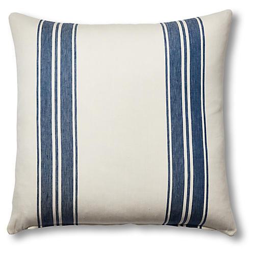 Brentwood 24x24 Pillow, Cobalt