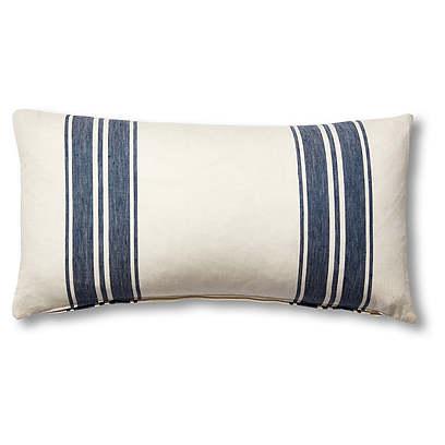 Brentwood 12x23 Lumbar Pillow, Cobalt