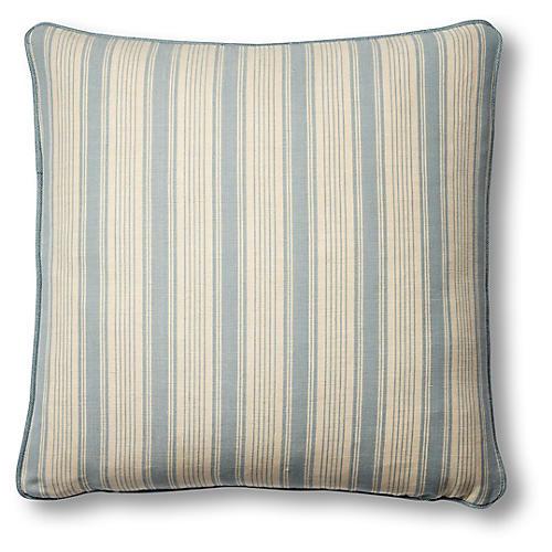 Ojai 19x19 Pillow, China Blue
