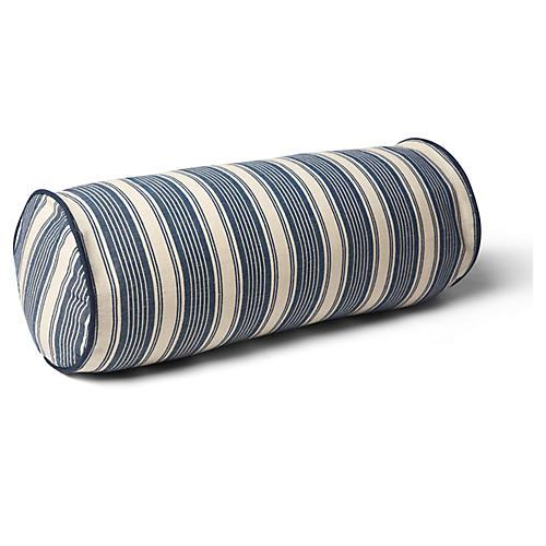 Ojai 7x20 Bolster Pillow, Indigo