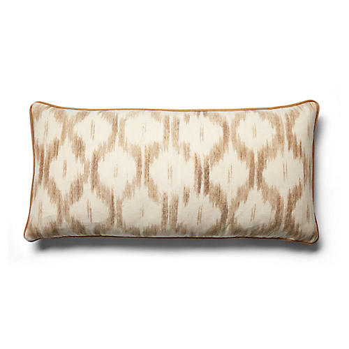 Santa Monica 14x28 Lumbar Pillow, Natural