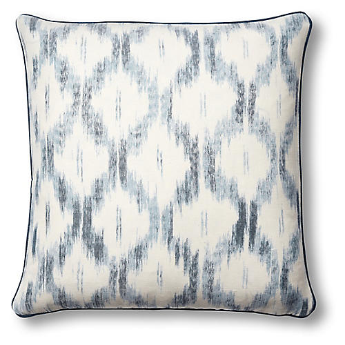 Santa Monica 19x19 Pillow, Indigo