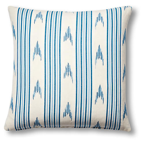 Santa Barbara 19x19 Pillow, Indigo