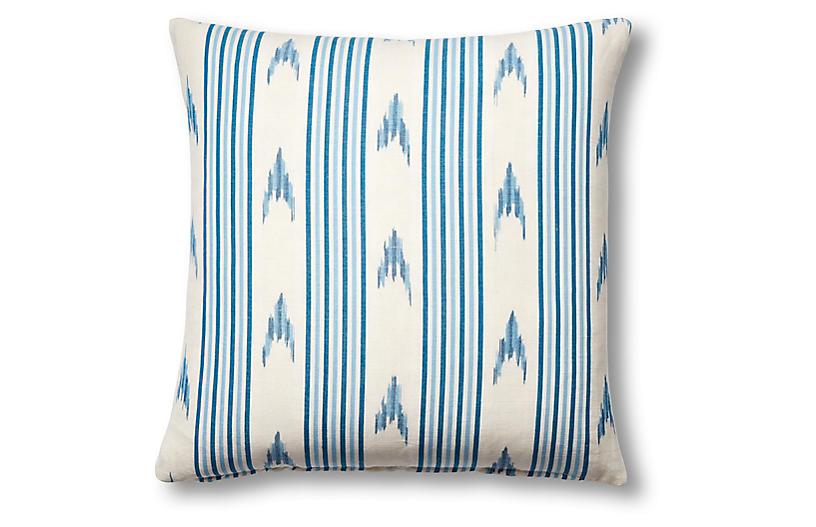 Santa Barbara 19x19 Pillow, Indigo