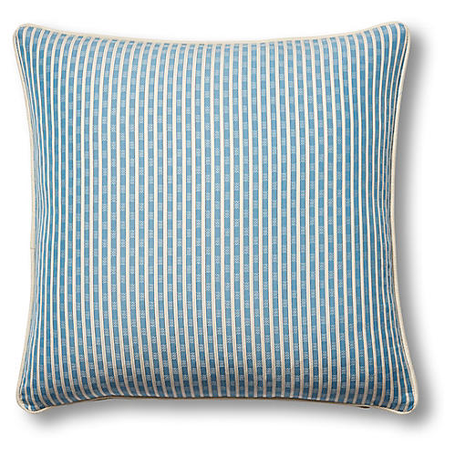 Beverly 19x19 Pillow, Indigo