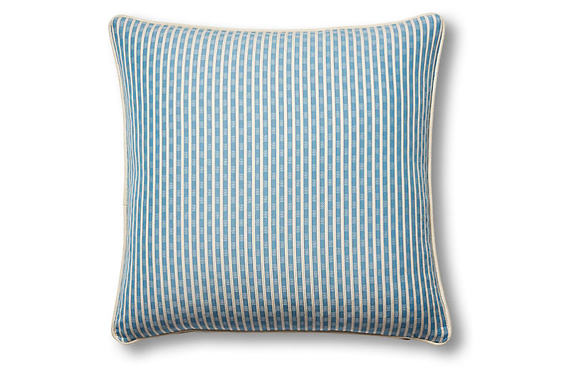 Beverly 19x19 Pillow, Indigo