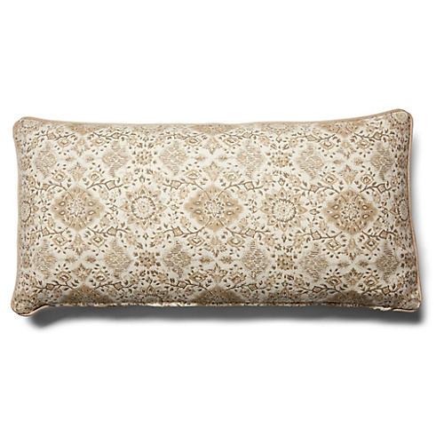 Montecito 14x28 Lumbar Pillow, Natural