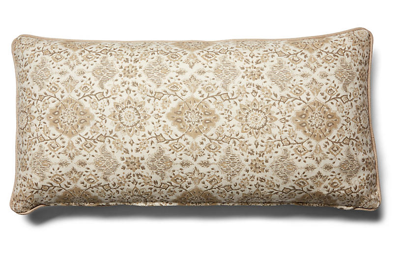 Montecito 14x28 Lumbar Pillow, Natural