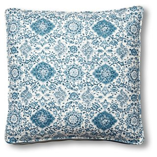 Montecito 19x19 Box Pillow, Indigo