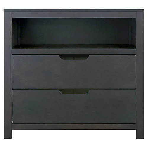 Owen Kids' Dresser, Chocolate Slate