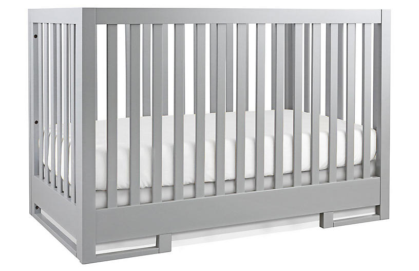 Carson Crib, Moon Gray