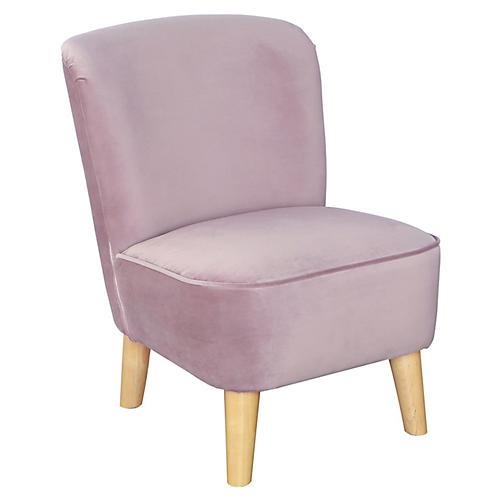 June Kids' Chair, Lavender