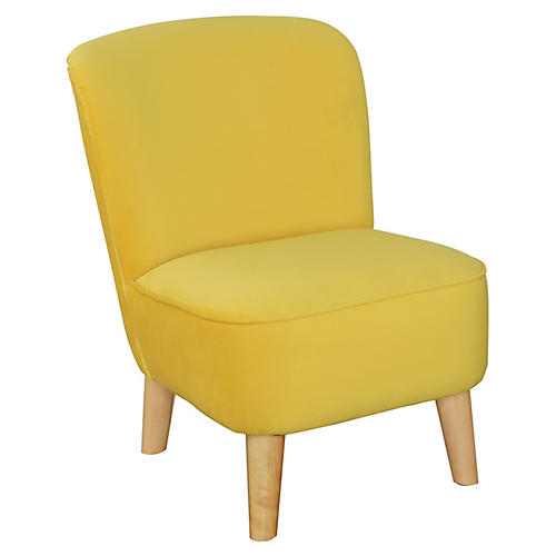 June Kids' Chair, Marigold