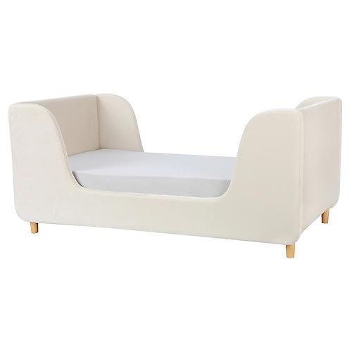 Bodhi Toddler Bed, Almond Velvet