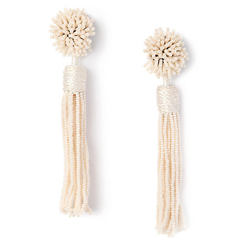 Lana Earrings, Ivory