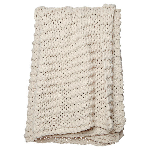 Finn Throw, Beige