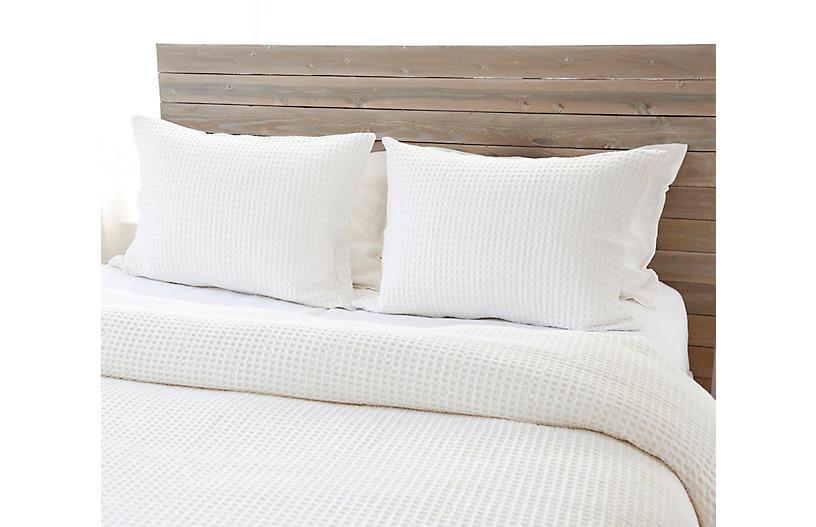Zuma Bed Blanket, Cream