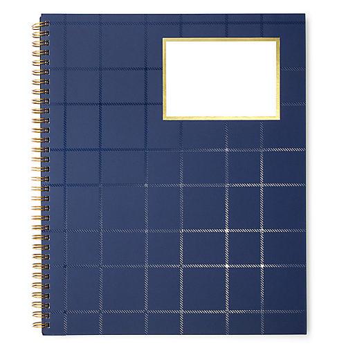 Single Subject Notebook, Indigo