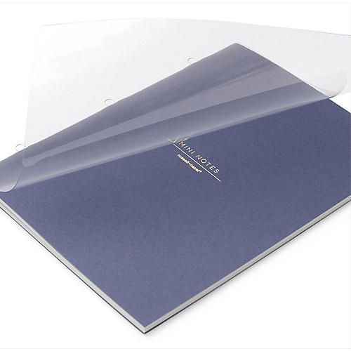 Mini Notebook, Indigo