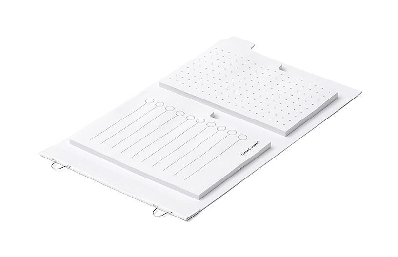 Mini Loop Adhesive Notes, White