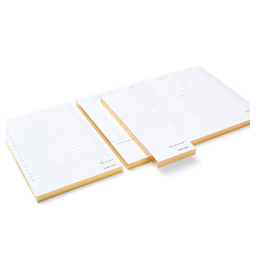 Asst. of 3 In Due Time Notepads