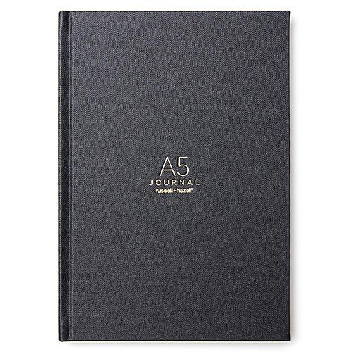A5 Journal, Onyx