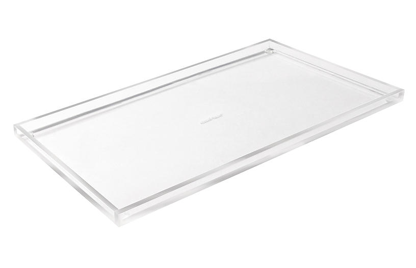 Acrylic Wide Bloc Tray