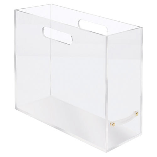 Acrylic Slim File Box