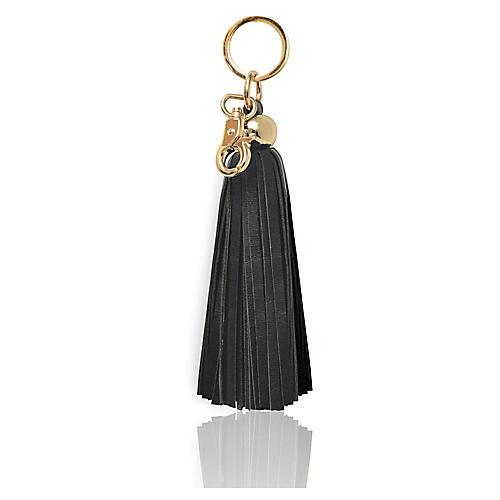 Tassel Key Chain, Black