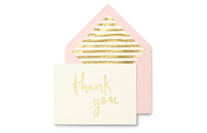 S/10 Thank You Note Cards