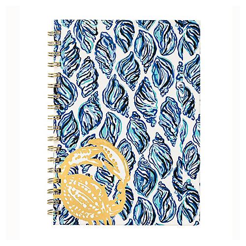 Drop-In Notebook, Blue/Multi