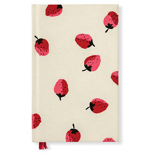 Strawberries Journal, Cream/Red