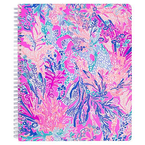 Aquadesiac Notebook, Blue/Multi